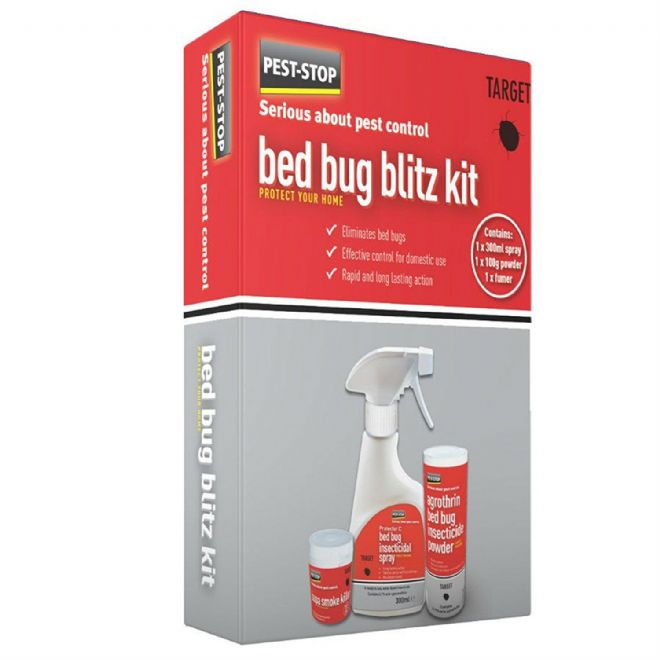 Bed Bug killer Kit for student accomodation & small flats